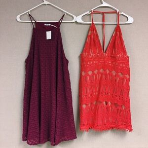 Bundle Of Two NWT Size Large Dresses